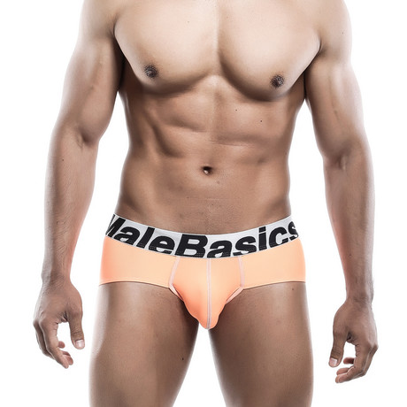 Microfiber Brief // Orange (S)