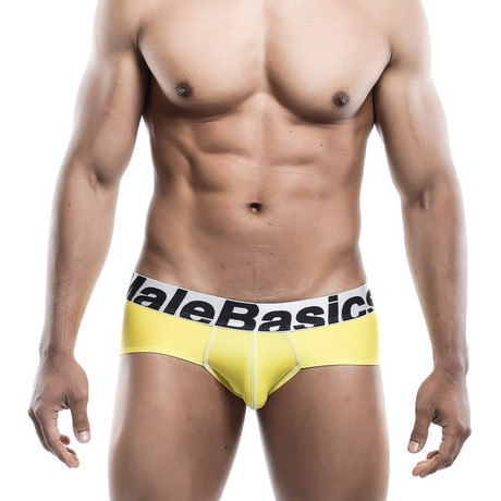 Microfiber Brief // Yellow (S)