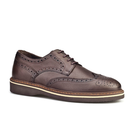 Jefferson Mens Shoes // Kahve