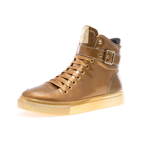 Sullivan 24K Sneaker // Gold Patent (US: 7)