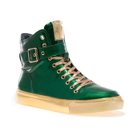 Sullivan 24K Sneaker // Green Patent (US: 7)