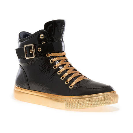 Sullivan 24K Sneaker // Black Patent