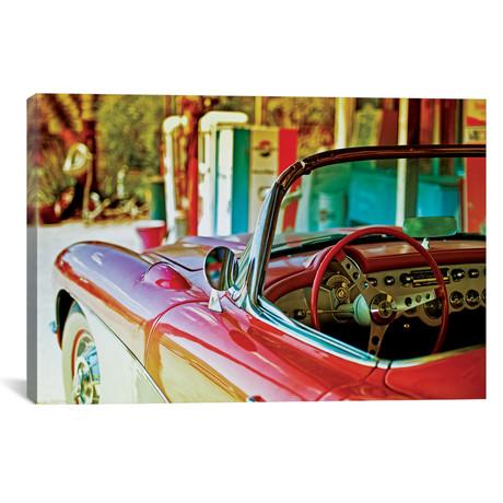 "Classic Chevrolet Corvette // Philippe Hugonnard (40""W x 26""H x 1.5""D)"