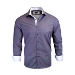 Kingsley Modern-Fit Dress Shirt // Navy (XL)