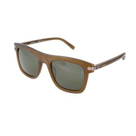 Men's SF785S Sunglasses // Brown + Matte Olive