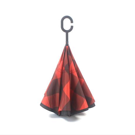 Upside Down Umbrellas // UU036 // Reversible