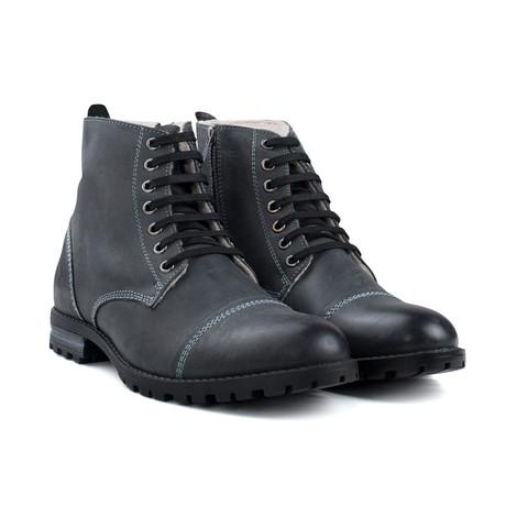 Fur Warm Lined Boot // Black (UK: 7)