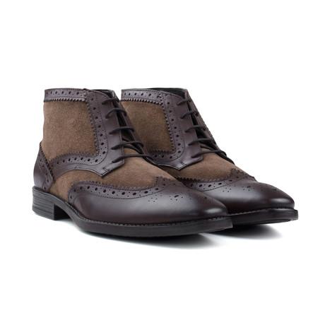 Stone Gatsby Boot // Brown (UK: 6)