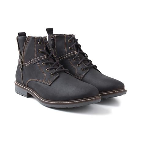 Zip Detail Work Boot // Brown (UK: 6)