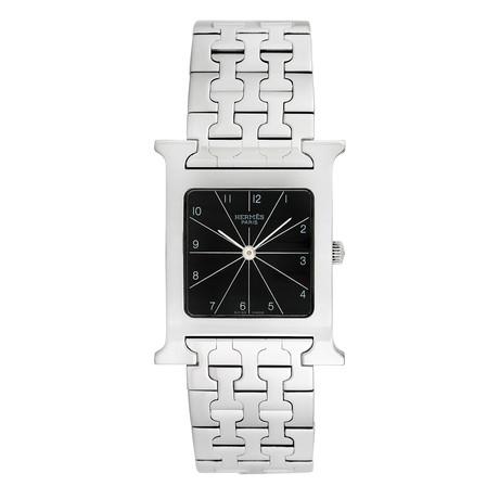 Hermes H Watch Quartz // HH1.510 // Pre-Owned