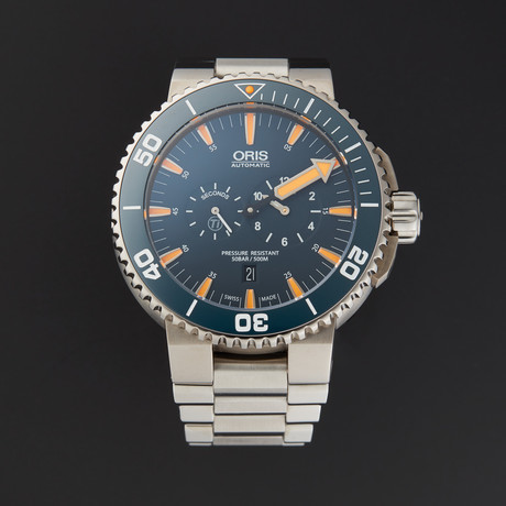 Oris Aquis Automatic // 749.7663.7185.SET.RS // Store Display