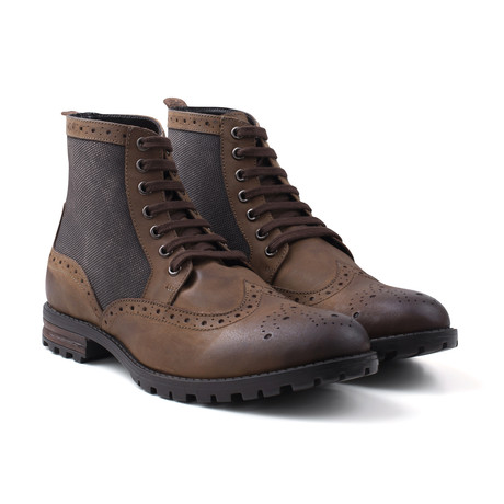 Waxy Work Boot // Brown (UK: 6)