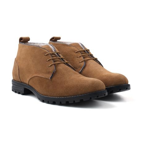 Suede Water Resistant Boot // Tan (UK: 7)