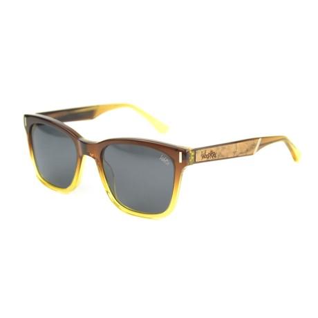 Carter Polarized Sunglasses // Ombre Acetate