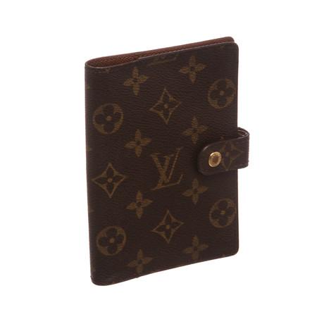 Louis Vuitton // Monogram Ring Agenda Cover // Small // CA1001 // Pre-Owned