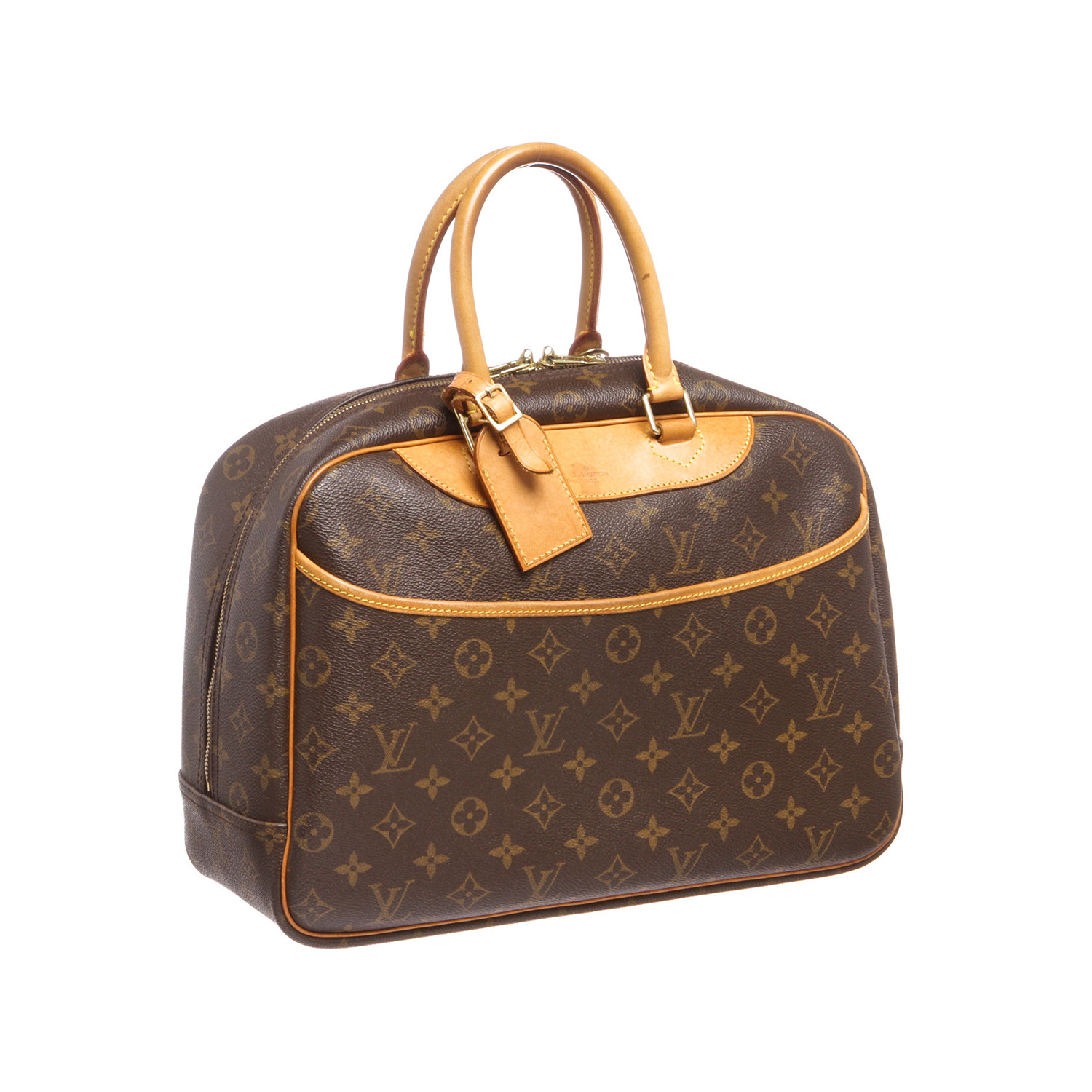 louis vuitton monogram deauville doctor bag mb0092 pre owned louis vuitton goyard. Black Bedroom Furniture Sets. Home Design Ideas