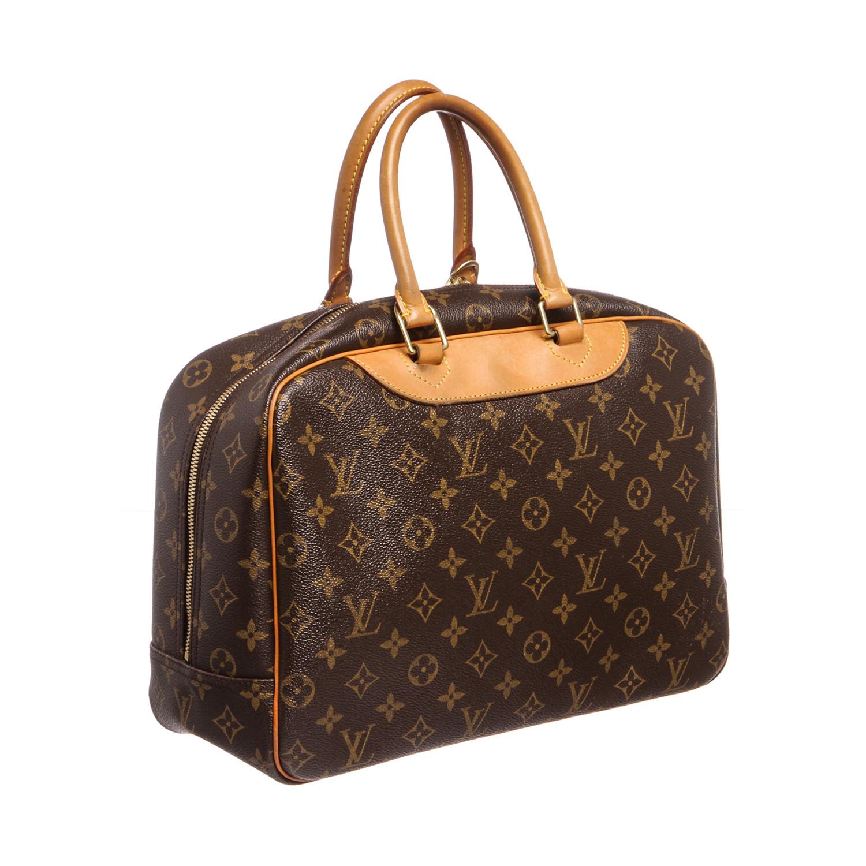 louis vuitton monogram deauville doctor bag mb0020 pre owned louis vuitton goyard. Black Bedroom Furniture Sets. Home Design Ideas