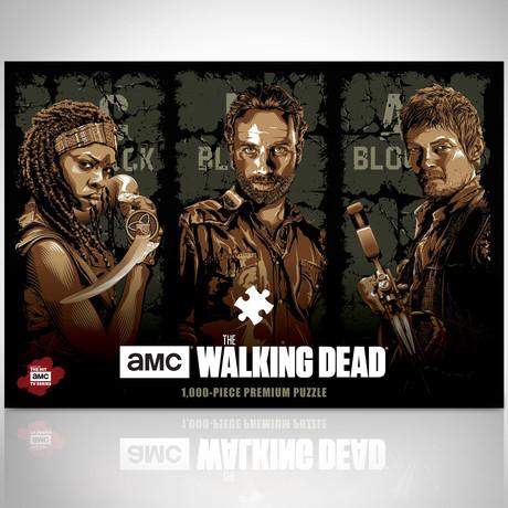 Puzzle 1000 Pc // Walking Dead // Premium Collector's Edition