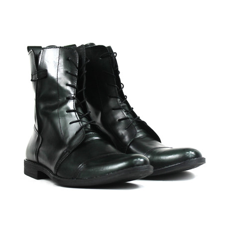 Masatti Cap-Toe Boot // Green (US: 7)