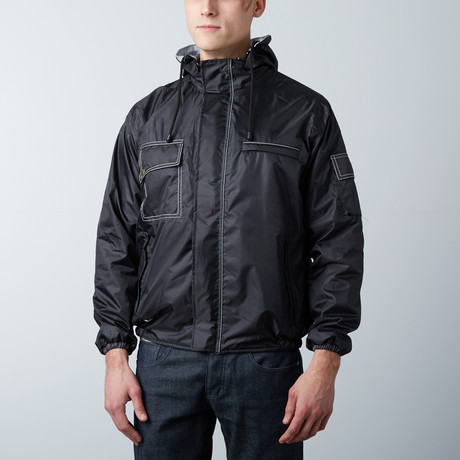 Bomber Jacket // Black (XXX-Large)