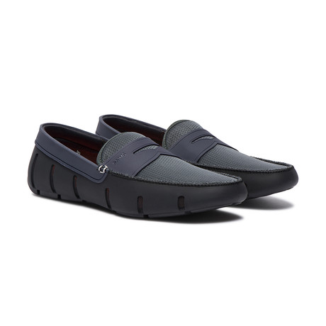 Penny Loafer // Black + Anthracite (US: 7)