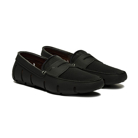 Lace Loafer // Black (US: 7)