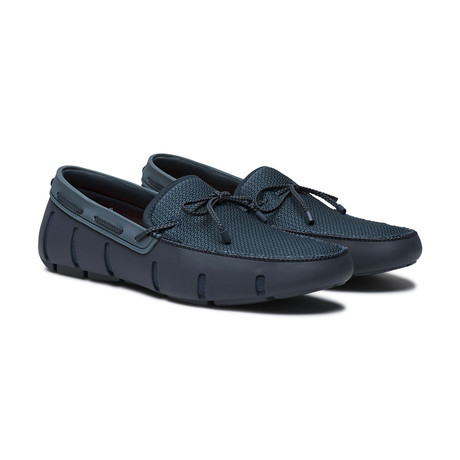 Braided Lace Loafer DT // Navy + Storm (US: 7)
