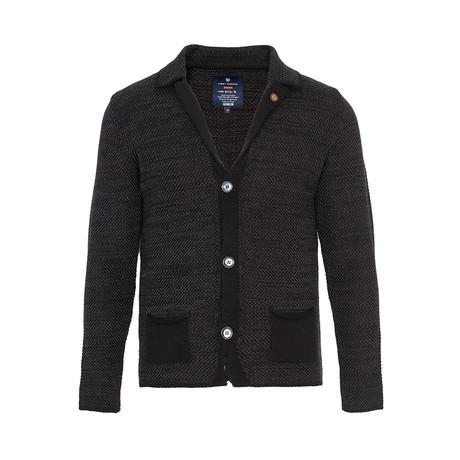 Knit Cardigan // Black (S)