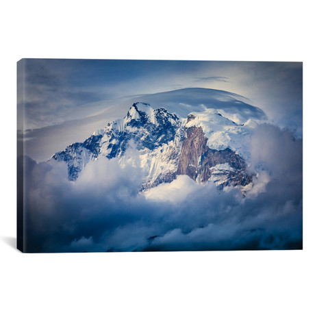 "Annapurna Range // Adrian Popan (26""W x 18""H x 0.75""D)"