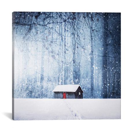 """Winter II (18""""W x 18""""H x 0.75""""D)"""
