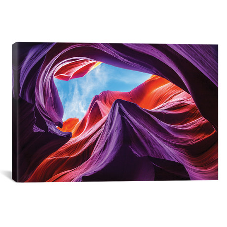 """Magical Lower Antelope Canyon (18""""W x 26""""H x 0.75""""D)"""