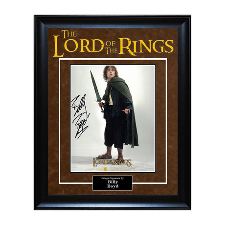 Signed Artist Series // Lord of the Rings // Billy Boyd