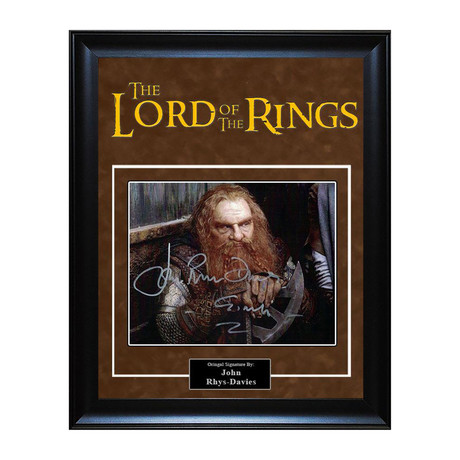 Signed Artist Series // Lord of the Rings // John Rhys-Davies