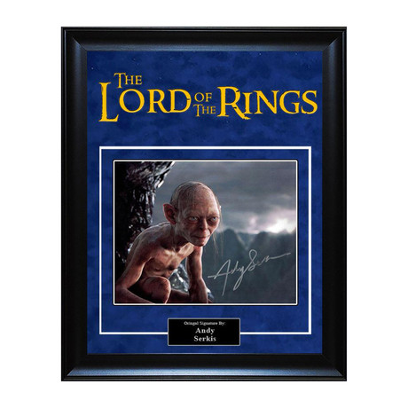 Signed Artist Series // Lord of the Rings // Andy Serkis