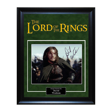 Signed Artist Series // Lord of the Rings // David Wenham