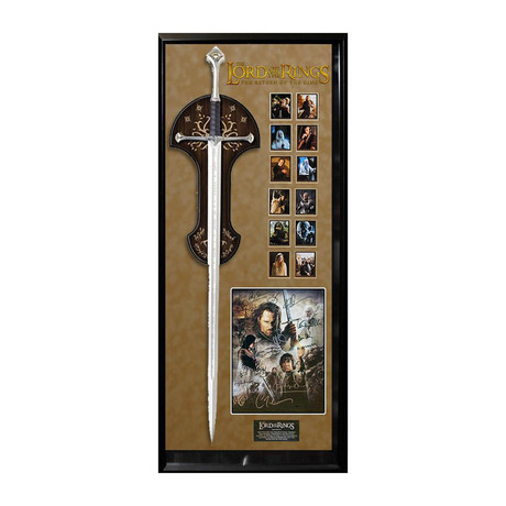 Signed Sword Collage // Lord of the Rings: Return of the King