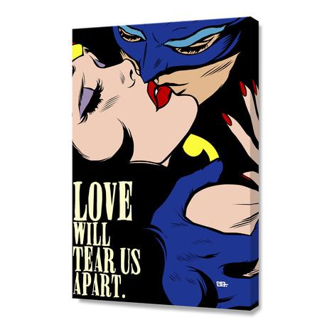 """Love Vigilantes (16""""W x 24""""H x 1.5""""D)"""