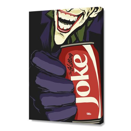 "The Killing Coke (12""H x 8""W x 0.0.75""D)"