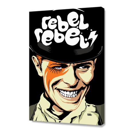 "Rebel Rebel (16""W x 24""H x 1.5""D)"