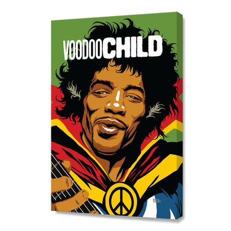 "Vodoo Child (16""W x 24""H x 1.5""D)"