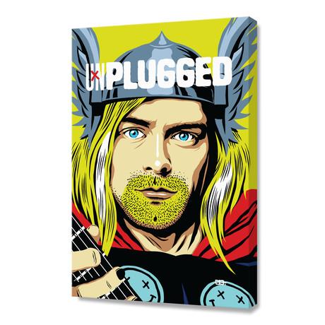 """Unplugged (16""""W x 24""""H x 1.5""""D)"""