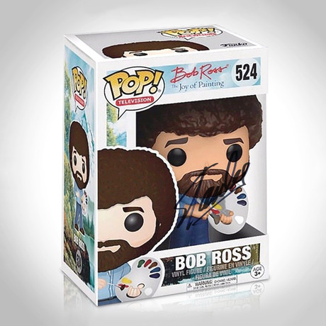 Bob Ross Funko Pop // Stan Lee Signed