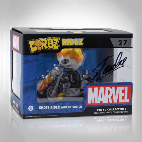 Ghost Rider Dorbz Ridez // Stan Lee Signed