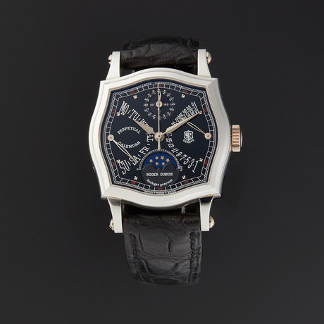 Roger Dubois Perpetual Calendar Automatic // Pre-Owned