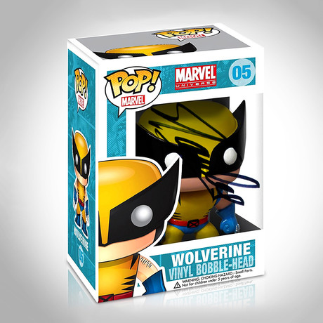 Wolverine Funko Pop // Stan Lee Signed