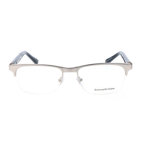 Alba Optical Frame // Silver
