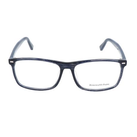 Valentino Optical Frame // Navy Blue