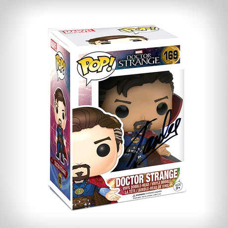 Doctor Strange Funko Pop // Stan Lee Signed