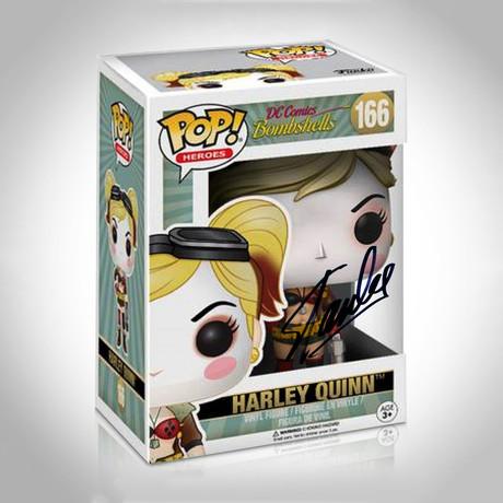 Harley Quinn Bombshell Funko Pop // Stan Lee Signed