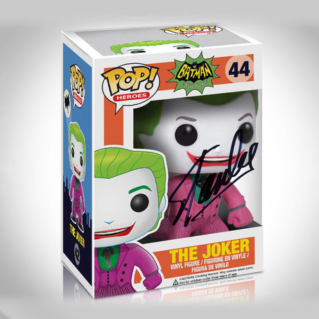 Joker 1966 Funko Pop // Stan Lee Signed